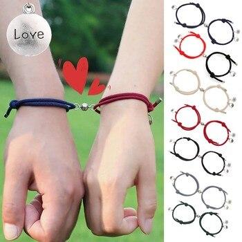 Bracelet aimant pour couple