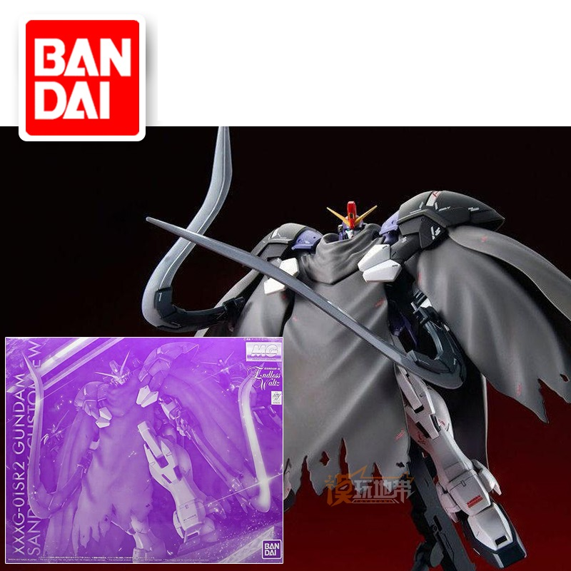 Japaness Bandai Original MG 1/100 Gundam W Endless Waltz SANDROCK CUSTOM Mobile Suit Kids Toys