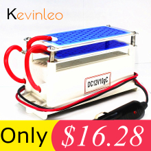Kevinleo 10 г озоновый генератор 12 в автомобильный долговечный очиститель воздуха портативный керамический очиститель воздуха стерилизатор воздуха автомобильный озоновый ионизатор