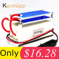 Kevinleo 10g Ozone Generator 12V Car Long-Last Air Clean Portable Ceramic Plate Air Purifier Air Sterilizer Car Ozone Ionizer
