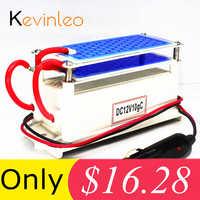 Kevinleo 10g générateur d'ozone 12V voiture longue durée propre Portable plaque céramique purificateur d'air stérilisateur d'air voiture ioniseur d'ozone