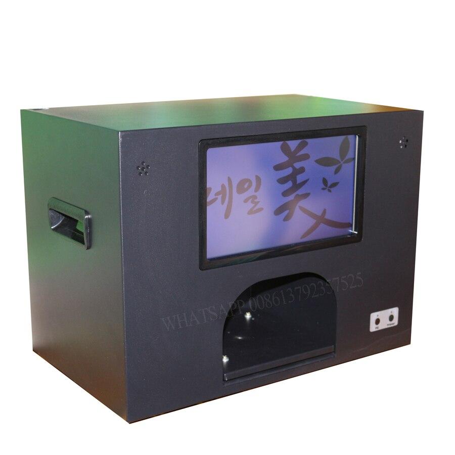 2020 nail art machine met scherm en computer digitale nagel printer cartridge en poetsmiddelen vrij nagel en bloem printer