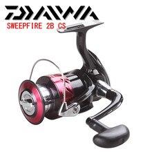 Daiwa sweepfire 2b cs 5.3: molinete para pesca, carretel de pesca de tamanho 1500 4000 2 + 1bb com poder de arrastar 2kg 6kg peche do moulinete