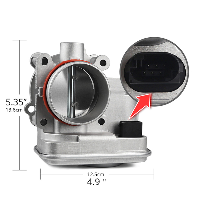 Electronic Throttle Body For Dodge Avenger Caliber Journey Chrysler 200 Sebring Jeep Compass Patriot Replace 04891735AC 5
