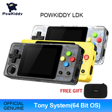POWKIDDY LDK 새로운 게임 2.6 인치 화면 미니 휴대용 게임 콘솔 향수 어린이 레트로 게임 미니 가족 TV 비디오 콘솔