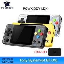 POWKIDDY-وحدة تحكم ألعاب فيديو LDK ، شاشة 2.6 بوصة ، وحدة تحكم صغيرة محمولة ، حنين ، لعبة ريترو ، تلفزيون عائلي