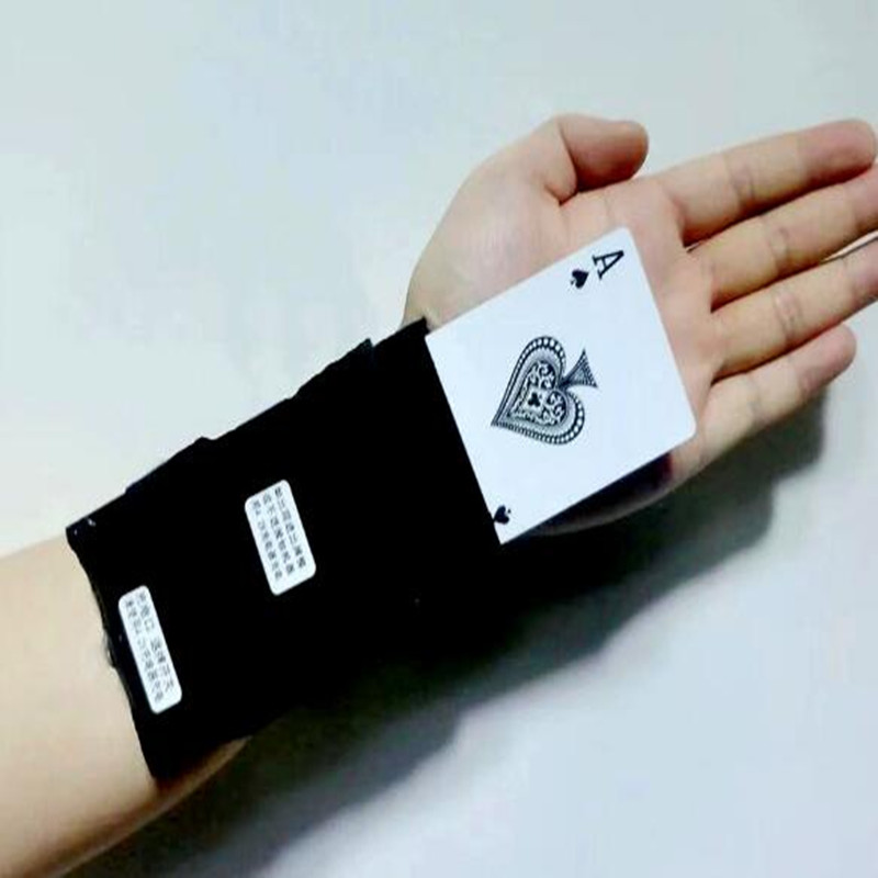 Electronic Card Switcher Ghost Hand Card Magic Tricks Gimmick Appearing Exchange Card Magia Device Close Up Street Accessories