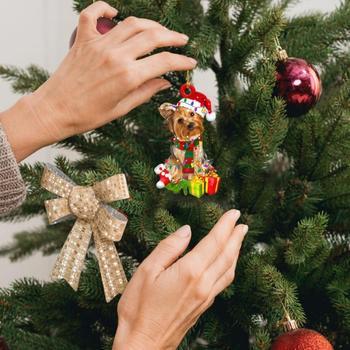 Dog Decoration Christmas Tree  2