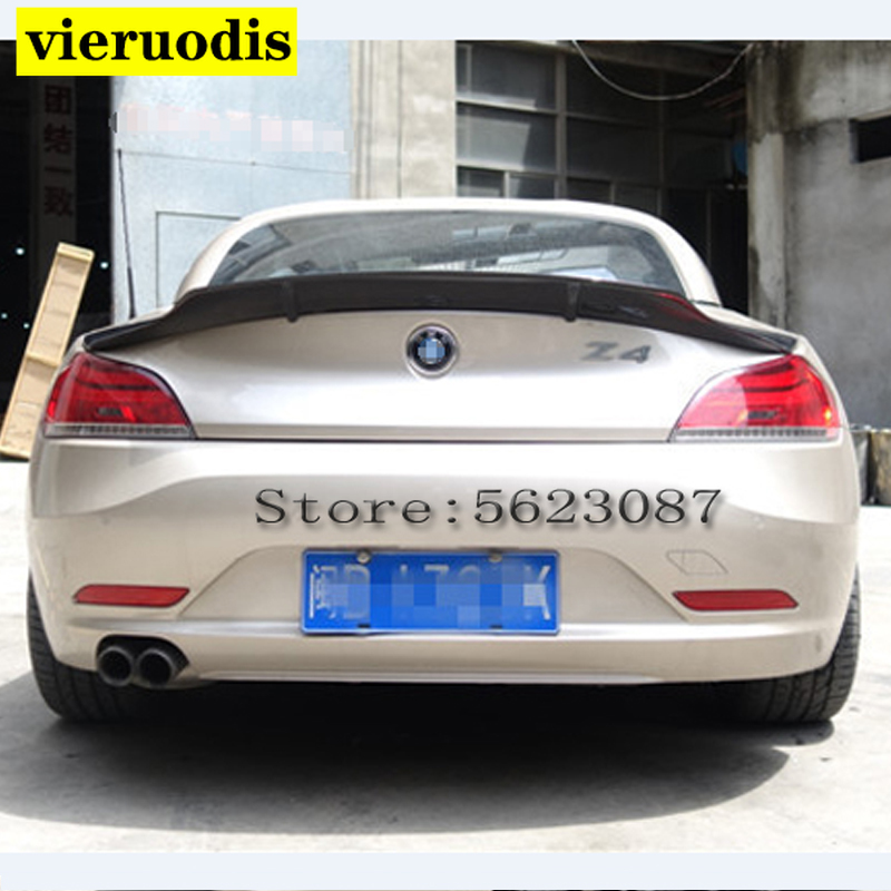 E89 R-style Carbon fiber/FRP Rear Trunk Wing Spoiler for 2009-2014 <font><b>BMW</b></font> Z4 E89 Coupe Convertible image