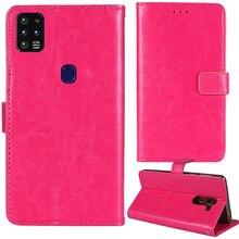 NUU X6 artı kasa koruyucu telefon çanta cüzdan kılıf kapak standı için klasik deri kılıf NUU cep G5 M19 Funda Coque