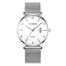 2019 New Fashion reloj hombre Men's Waterproof Luminous Quartz Watches Luxury Top brand relogio reloj Business Casual watch men