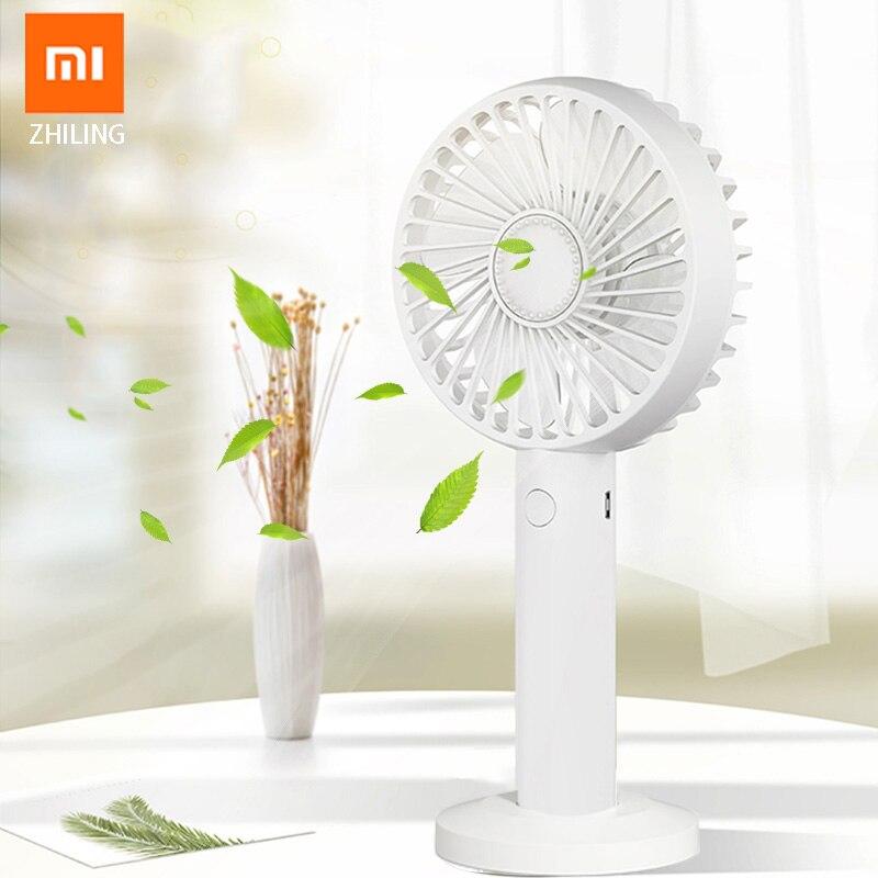 Xiaomi Fan Ventilation Fan Portable Mini Fan Usb Charging Desktop Three-speed Adjustable Speed Portable Air Conditioner 5