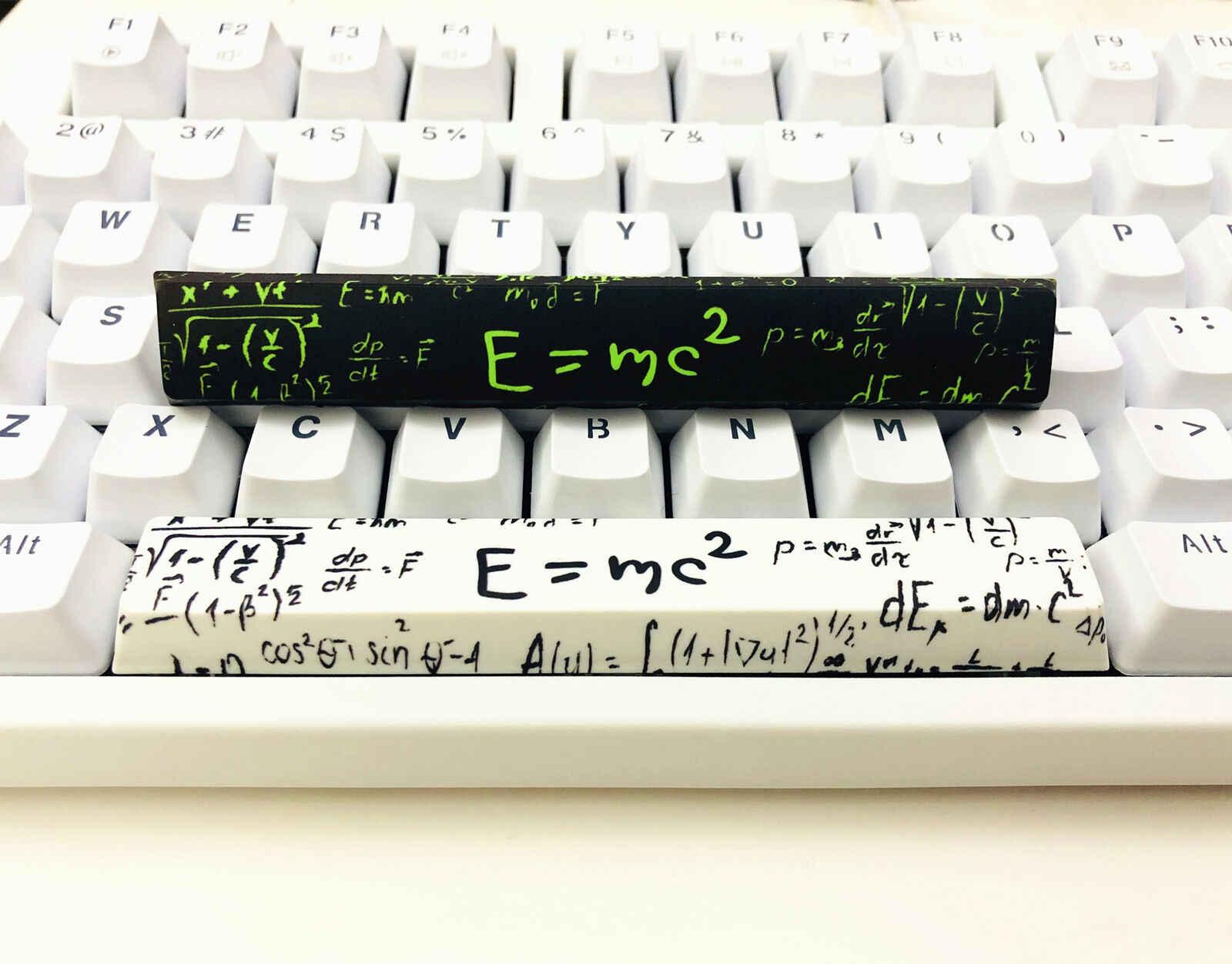 E = mc2 染料サブスペースバーキーキャップアインシュタインエネルギーマス式桜プロファイル mx メカニカルゲーミングキーボード