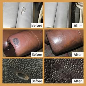 Image 3 - VISBELLA נוזל עור תיקון ערכות משלים צבע להדביק מכונית מושב ספה מעיל חור שריטה סדקים פולני לשפץ טיפול צבע