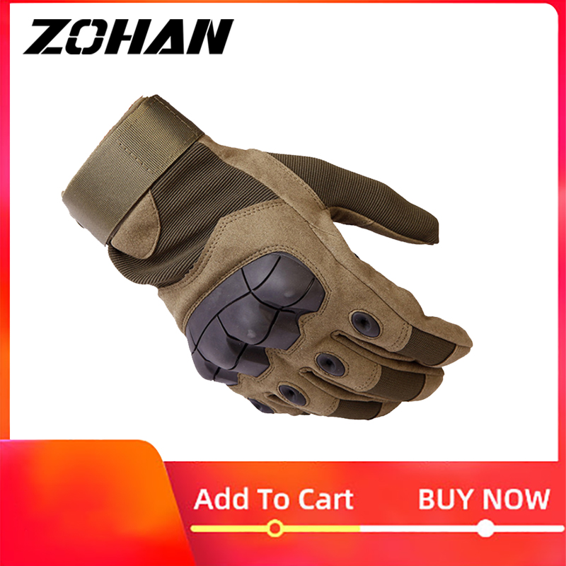 Gloves Tactical Military Knuckles Hunting Men Outdoor Winter Touch Screen Shooting Bicycle Airsoft Combat Gloves For Hunting