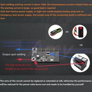 Image 5 - Spot schweißen maschine zubehör schweißen stift vollen satz von zubehör DIY tragbare 12V batterie energie lagerung spot schweißen machin