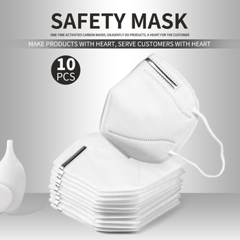 VIP 10pcs/5PCS KN95 Face Mask Kids Adults Kn95 Facemask Anti-Dust PM2.5 Fog 3 Filter Safety Protective Mask