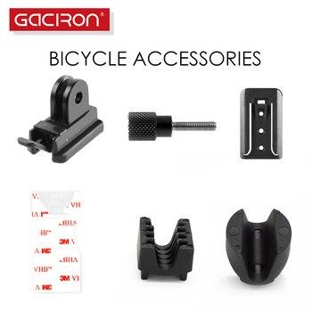GACIRON Универсальный Велосипедный светильник с креплением на руль аксессуары для велосипедной лампы 3M наклейки/основание/гайки