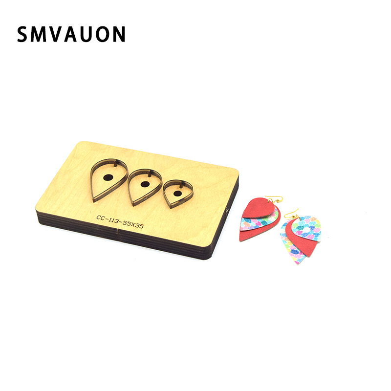 Wooden Leather Cutting Dies Cartoon Punch Blade Cutter Mold Tool Mould DIY Craft