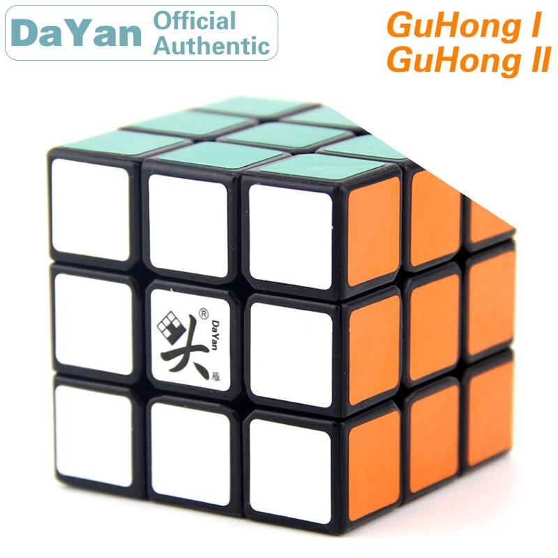 DaYan GuHong I II 3x3x3 Magic Cube 3x3 V1/v2 Brain Teasers Professional Speed Twist Puzzle Antistress Educational Toys For Kids