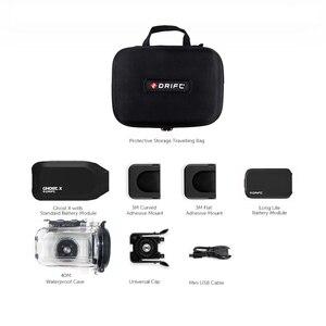Image 2 - 드리프트 고스트 X MC 액션 카메라 Ambarella 1080P 오토바이 자전거 스포츠 헬멧 미니 캠 암 12MP CMOS 로터리 렌즈 와이파이