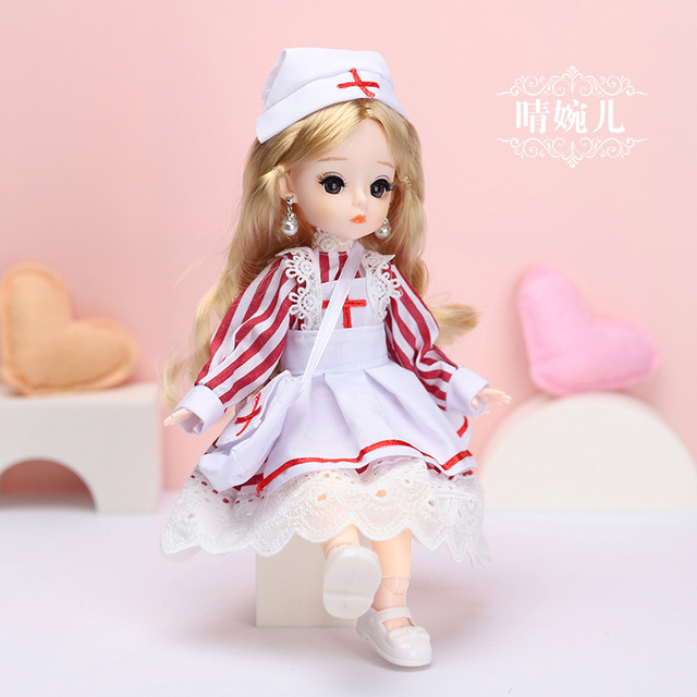 12 Inches Princess 30cm Joints BJD Suit Series Doll Toys for Girls Children Birthday Christmas Gifts 4
