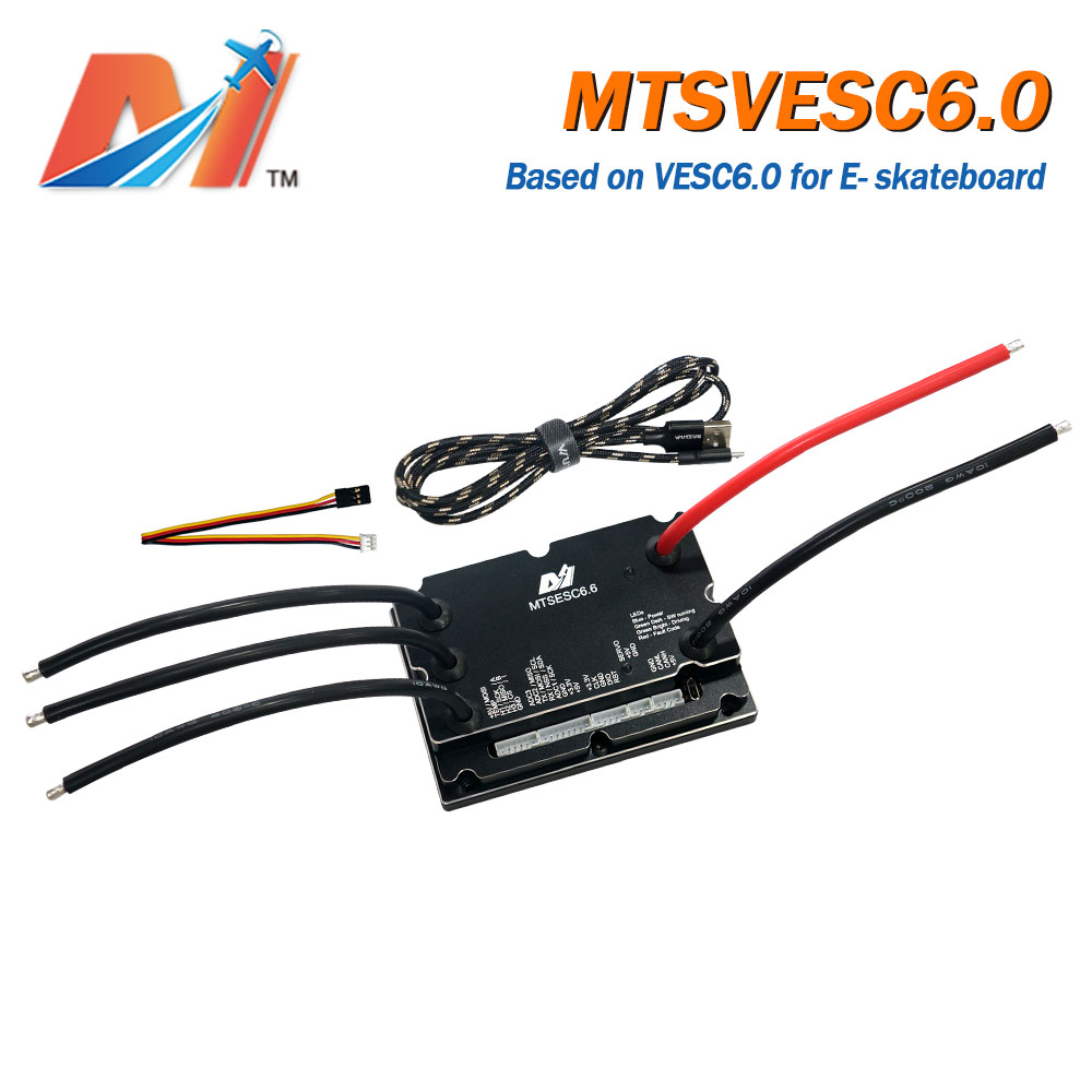 Maytech 200A ESC Based On VESC6 Benjamin Vedder Electronic Speed Controller VESC For Electric Longboard DIY Skateboard