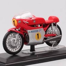 1/22 scale mini Italeri classics old MV Agusta 500 Tre 1967 GP racing No.1 G Agostini motorcycle Diecast Vehicles moto bike toys 1 10 scale alloy diecast racing bike w basket