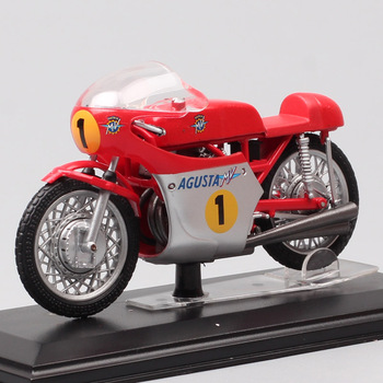 1/22 scale mini Italeri classics old MV Agusta 500 Tre 1967 GP racing No.1 G Agostini motorcycle Diecast Vehicles moto bike toys