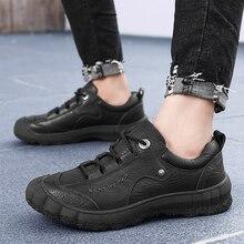 الرجال حذاء كاجوال الرجال الدانتيل يصل مارتينز أحذية من الجلد الحقيقي الدانتيل يصل العمل مكتب أوكسفورد أحذية الشتاء مقاوم للماء الكاحل بوتاس