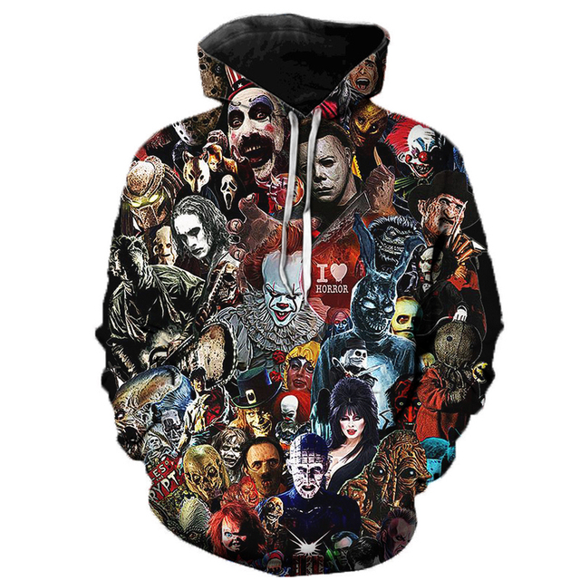 IT THEMED 3D HOODIE (14 VARIAN)