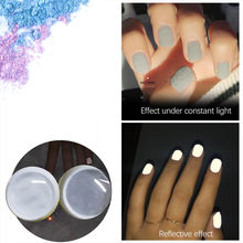 Neon Phosphor Powder Nail Glitter Powder Powder Nail Glitter Powder Luminous Fluorescent Nail Glitters Glow in the Dark #ZF(China)