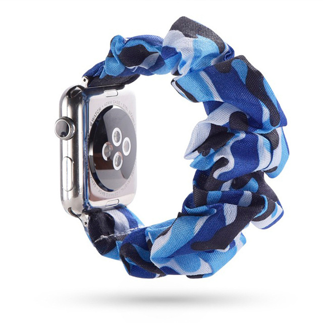 Fashion Scrunchie Band for Apple Watch 4