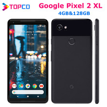 Google Pixel 2 XL Original Unlocked GSM 4G Android handy 6.0 ''12,2 MP Octa-core RAM 4GB ROM 128GB AMOLED Fingerprint NFC
