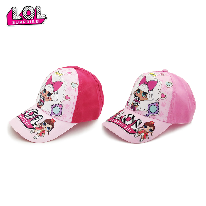LOL Surprise Dolls Lol Suprise Hat Birthday Party Theme Baseball Hat Decoration Supplies Holiday Cap Activity Event Kids Gifts