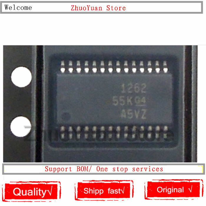 10PCS/lot ADS1262IPW ADS1262IPWR ADS1262 TSSOP28 1262 IC Chip New Original In Stock