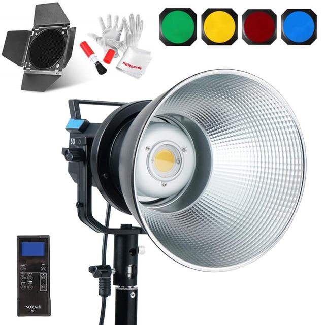 Sokani X60 V2 Led Video Licht 80W 5600K Versie 2 Daglicht CRI96 Tlci 95 + 5 Pre Geprogrammeerd Verlichting Effect Bowens Mount