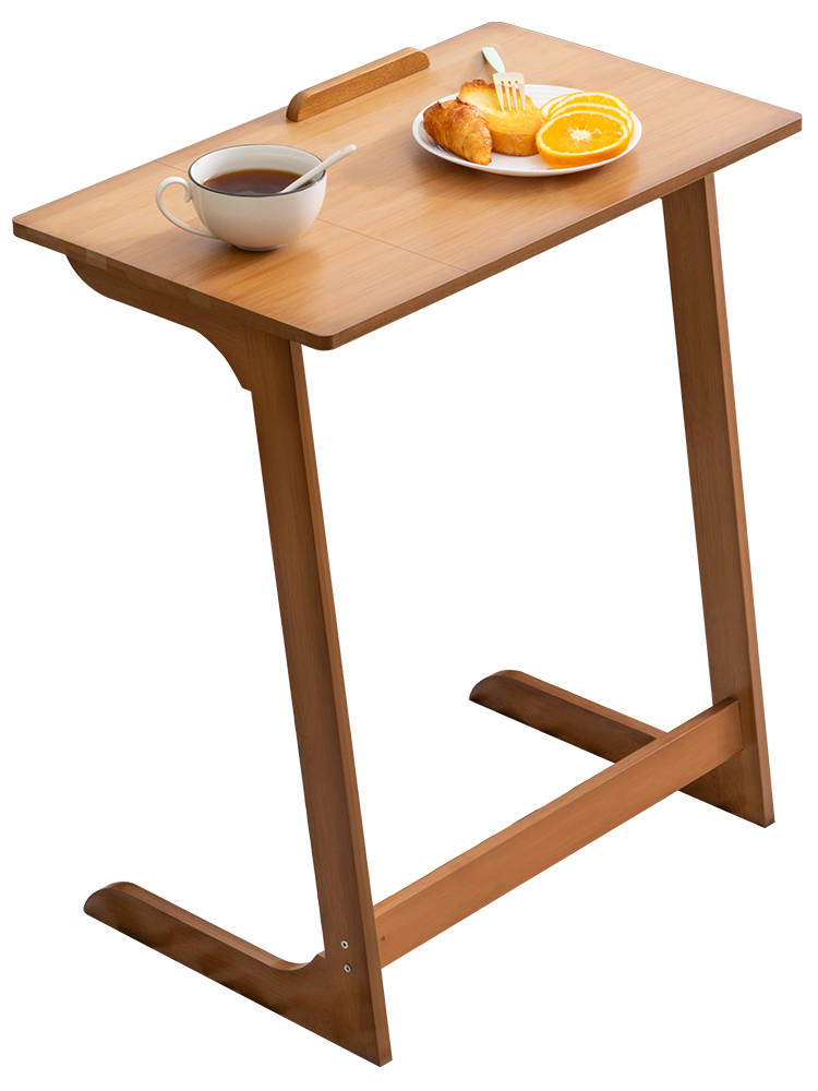 Multi functional folding table modern simple solid wood computer table durable children's learning writing desk