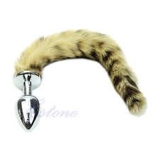 Sex Toys For Men Women Small Size Faux Fox Tail Butt Anal Plug Sexy Romance Funny Adult Product #E015C#
