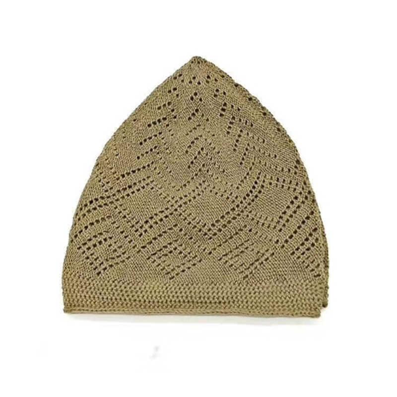 แฟชั่นมุสลิมอิสลามอาหรับ Man ชาวยิว gorras hombre Bonnet Hijab หมวก musulman de โหมดอินเดียซาอุดีอาระเบีย