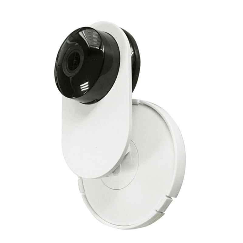 2 ensemble 360 degrés pivotant en plastique caméra montage mural support de support pour Mi/Yi Smart Home sécurité caméra accessoires LX9A