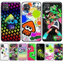 colorful art cartoon Splatoon 2 Bling Cute Phone Case For iphone 4 4s 5 5s 5c se 6 6s 7 8 plus x xs xr 11 pro max nand pro box ip nand pro for iphone 4 4s 5 5c 5s 6 6p supported for ipad 2 3 4 5 6 supported