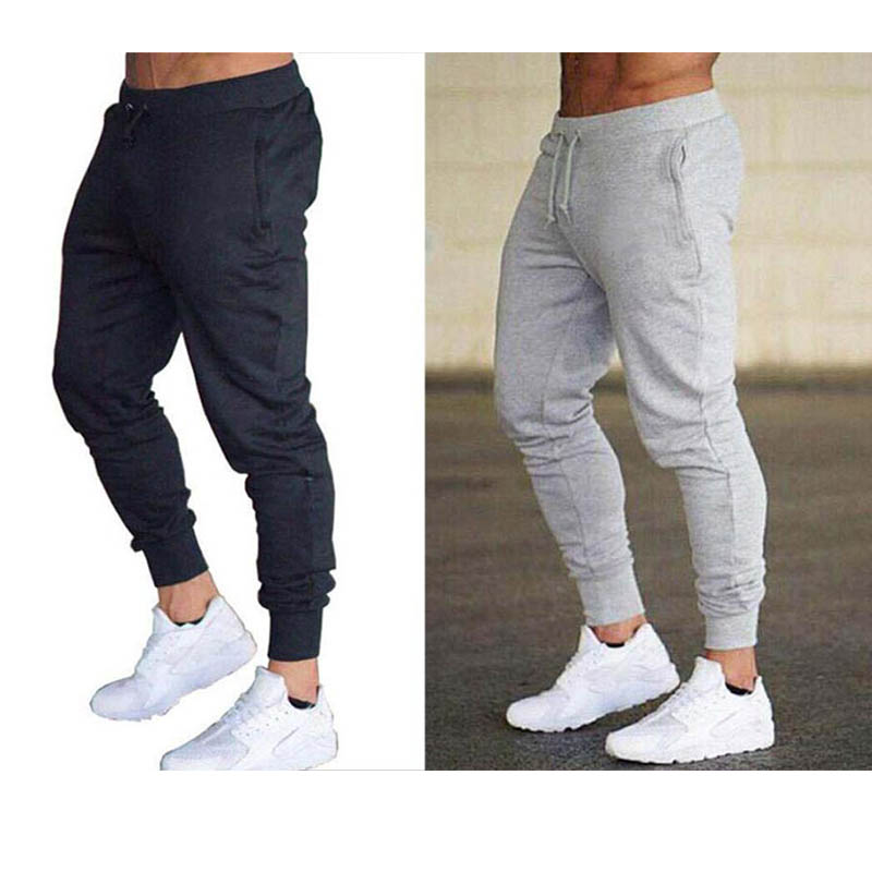 New Spring Autumn Gyms Men Joggers Sweatpants Men's Joggers Trousers Sporting Clothing The High Quality Bodybuilding Pants