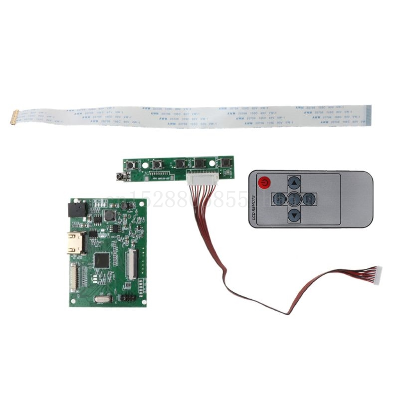 1 carte pilote LCD 30PIN compatible HDMI EDP pour résolution décran 1920x1200 1920x1080