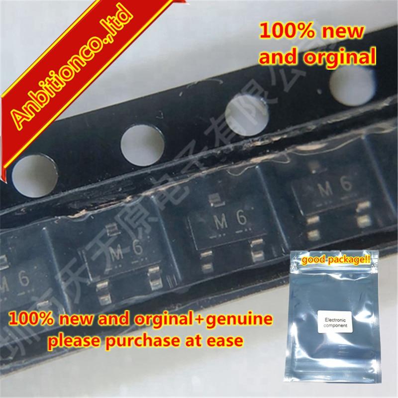 20pcs 100% New And Orginal 2SA812-T1B-A/JM Silk-screen M6 SOT-23 In Stock