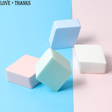 diamond shape Cosmetic Puff Makeup Foundation Sponge Makeup puff Powder Smooth Beauty Cosmetic make up sponge beauty tools Gifts la milee beauty makeup sponge powder puff smooth foundation sponges for lady make up high quality cosmetic puff tool 6 colors