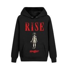 5 tasarımlar tava bant rocker kazak kazak kaya güzel yumuşak sıcak hoodies ağır metal punk sudadera polar giyim