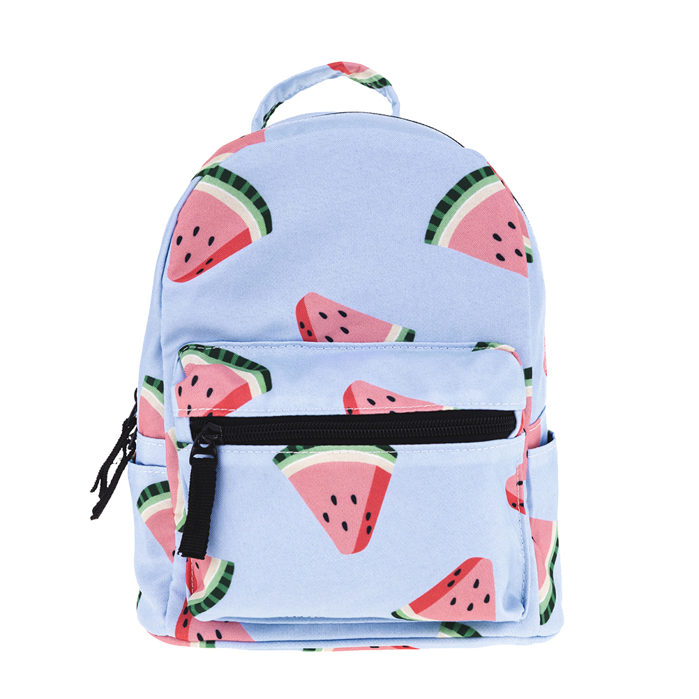 1pcs Backpack Simple Storage Printing Oxford Fabric Beautiful Backpack Watermelon Backpack For Kid Child Girl