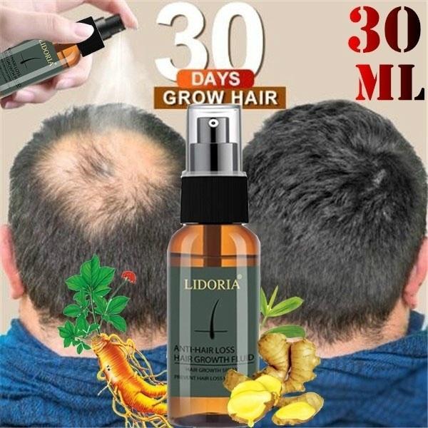 Blue ZOO 30ML Hair Growth Spray Essential Oil Hair Loss Liquid Care Beauty Hair Growth Spray for Men Women Hair Care Treatment