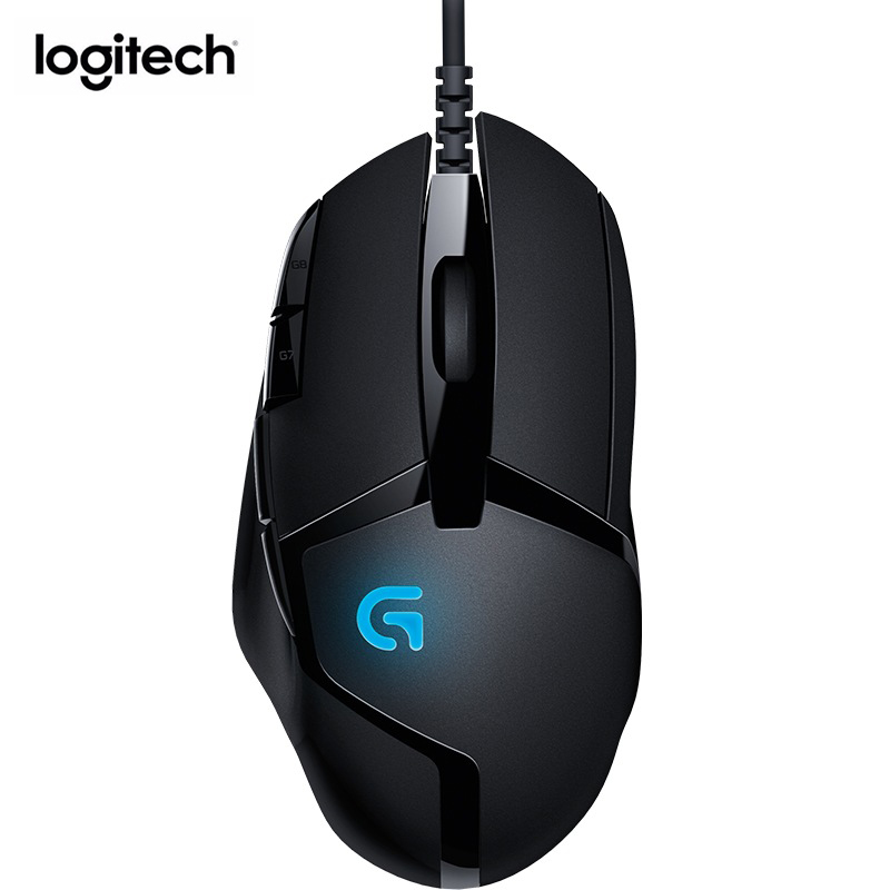 Logitech G402 Hyperion Fury FPS Gaming Mouse 4000 DPI Wired Optical Mouse Computer Peripheral Accessories